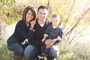 Former Navy medic Donnie LeJeune and family
