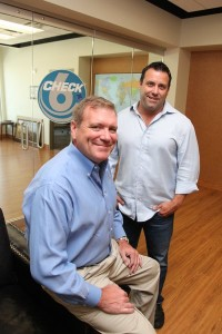 "Check-6 Founder Brian ""Bru"" Brurud and Industrial3D President Beau Brown"